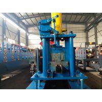 地鑫全自动液压剪切导槽机 导槽成型机械设备 定尺剪切