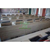 学校教室电脑桌 翻盖式电脑桌 翻转式会议桌 简约