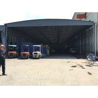 宁波奉化县大型厂房仓库帐篷 轮式活动推拉蓬 大型阳光板雨棚布
