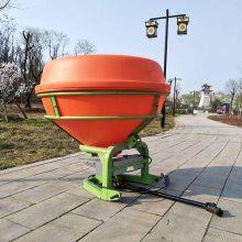 农场籽肥撒播机手扶拖拉机悬挂扬肥机圆桶式化肥抛撒机直销