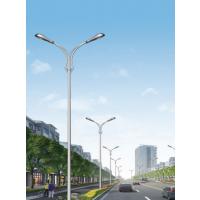 厦门10米双叉路灯 宁德12米方管高低挑路灯 科尼星圆柱景观灯