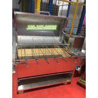 不锈钢无烟烤羊腿炉子 北京做碳烤羊腿炉子厂家 全电烤羊排的设备