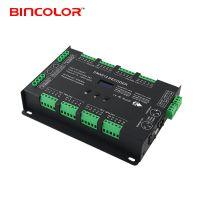 深圳缤彩32路dmx512恒压驱动分控器,带rdm功能