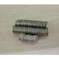 厂家直销钕铁硼圆形强力磁铁 磁铁片N35-N52磁铁定做包邮