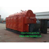 甘肃燃煤蒸汽锅炉 永兴DZL全自动链条 4吨蒸汽锅炉价格