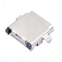 TYPE-C双壳母座3.1沉板式USB连接器24Pin贴板SMT