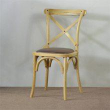 实木交叉背椅子定做,惠州北欧风格餐厅椅子批发