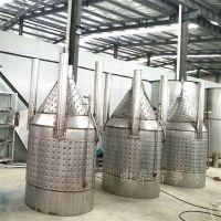 自酿啤酒设备发酵系统介绍 不锈钢发酵罐厂家