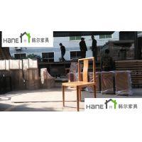 供应徐汇恒隆广场望湘园桌椅 现代中式餐饮家具 上海韩尔工厂