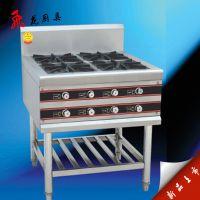 专业供应 实用型厨具灶 餐厅四眼煲仔炉灶 商用六眼灶批发