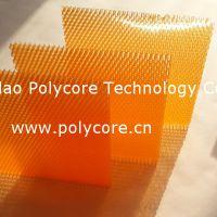 艾思乐防水防霉透光阻燃隔音隔热pc蜂窝板新型节能建筑玻璃用蜂窝材料