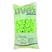 UVEX/优维斯2112003防护耳塞 柠檬色无绳耳塞 耳塞填充包