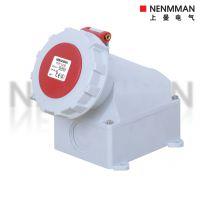 NENMMAN厂家直销正品TYP:1210 三相五孔32A-6h IP67明装防水插座