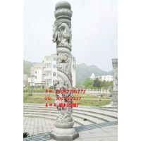 石头柱子厂家供应花岗岩,青石,汉白玉,大理石广场龙柱。