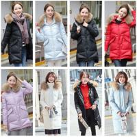 广州羽绒服棉衣韩版女装棉服清货杂款时尚女士羽绒外套清仓