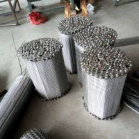 不锈钢菱形网带生产厂家用于包装机械输送线 乾德生产