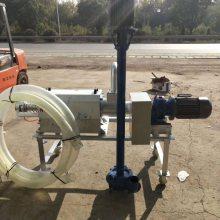 高科技粪便脱水分离机 山东邦腾大型环保固液分离机 处理量35立方/H