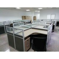 办公家具简约现代电脑桌4/6人位屏风卡座工作位职员办公桌椅组合厂家订制