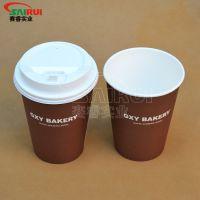12盎司单层杯专业生产,创意双层杯,济南纸杯制作
