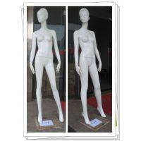 服装店组合女模特道具 全身摄影婚纱模特个性橱窗展示道具 亮白站姿女模