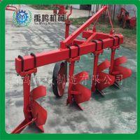 禹鸣40-50马力四轮拖拉机悬挂425铧氏犁四铧犁农业耕种机械翻地犁厂家直销