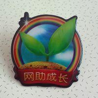 深圳实力厂家专业定制 平板印刷徽章 欢迎询价