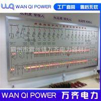 电力模拟板模拟屏 模拟图2.1m×1m模拟盘LED调度模拟屏