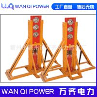 5吨 10吨液压升降门式电缆电线放线架 放线器/5-20吨