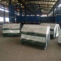 河北绿美热销封闭式3立方勾臂垃圾箱 铁质垃圾箱 生产制造厂家直销
