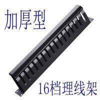 厂家供应 12/16/24/档金属理线架 可加厚 -塑料理线架