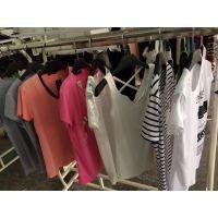 广州厂家尾货清仓处理几块钱女装T恤衫批发沙河服装批发市场地摊服装货源