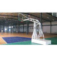 清远连山移动动篮球架 钢化玻璃透明板 球架一套多少钱 康腾体育***