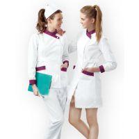 供应重庆卫生院护士服定做,医生白大褂设计款式图