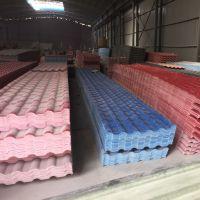 ASA合成树脂瓦屋面瓦 农村平改坡工程别墅瓦 波浪塑钢瓦广东厂家
