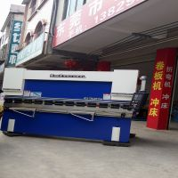 广东深圳不锈钢门业专用折弯机 63T/2500文件橱柜数控折板机 精准成型设备