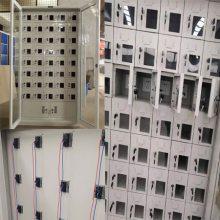 合肥48门学校用手机充电柜价格多少钱,带usb接口插座 漏电保护器