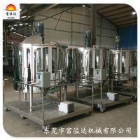 广州大型日化洗液搅拌机 小型均质洗发水生产设备 洗洁精搅拌桶