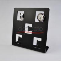 亚克力手表架 亚克力表座 有机玻璃表架 黑色高档架定做