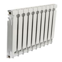 河北暖气片厂家生产SNVR7002-800压铸铝暖气片 组数自由组合的暖气片
