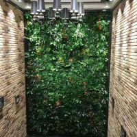 紫萱工艺平厂家直销仿真草坪墙 植物墙 仿真花墙 文化墙景观设计施工欢迎合作