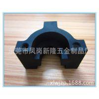厂家直销 皮轨接连块铝件 工业铝型材 CNC精密机加工 表面喷砂