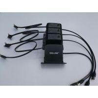 科雷博可定位苹果充电线单拉高端绕线盘信号线手机充电线三合一端口