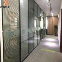 东莞办公室双玻百叶玻璃隔墙
