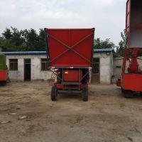 改装二手青储机大型圆盘式玉米秸秆青储机高粱粉碎回收机