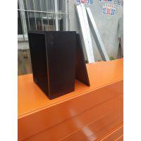 龙胜非标弱电箱 室内控制型箱250*200*150 镀锌喷涂 亚光黑电箱 jfx基业箱 电控箱