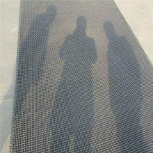 黑白钢重型轧花网 养猪网编织网 金属网帘