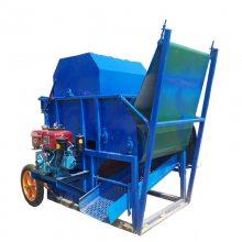 农业机械 毛豆采摘机 青豆采收机 润丰制造