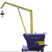 供应百一手推式吊车 机械车间工件卸载起重机