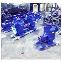 厂家直销上海文都牌80ZW65-25型自吸式无堵塞排污泵不锈钢自吸泵