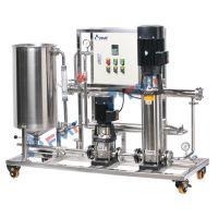 多功能卷式膜中试设备,料液分离测试,压力平稳,性能可靠